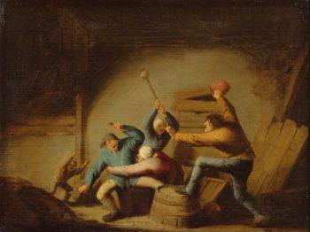 Brawl | Ostade Adriaen van | oil painting