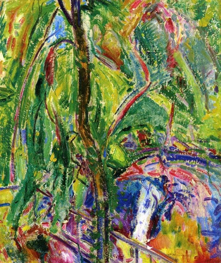 Landscape 1911 | Alfred Henry Maurer | oil painting