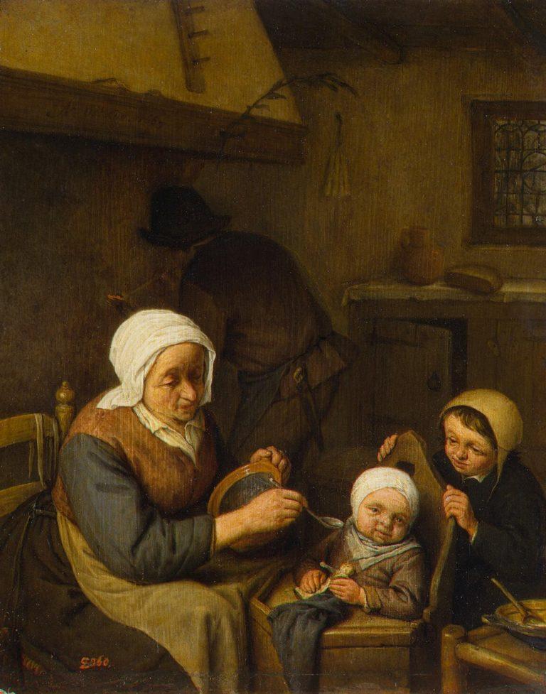 Peasant Family | Ostade Adriaen van | oil painting