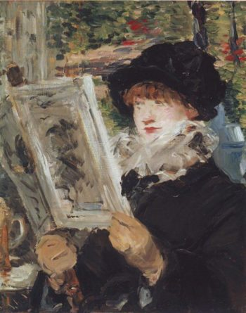 Woman reading | Edouard Manet | oil painting