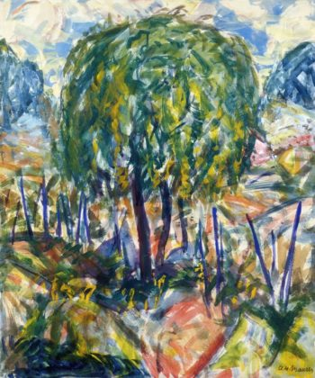 Landscape 1915-1916 | Alfred Henry Maurer | oil painting