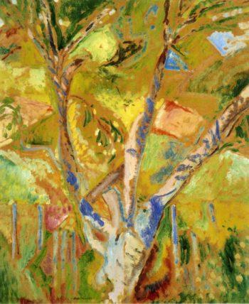 Landscape of Provence 1912-1922 | Alfred Henry Maurer | oil painting