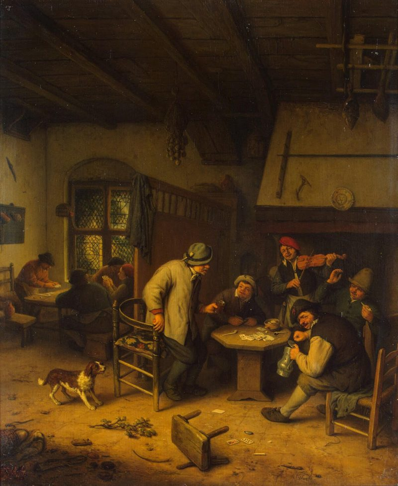Peasants in a Tavern | Ostade Adriaen van | oil painting