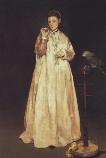 Young lady | Edouard Manet | oil painting