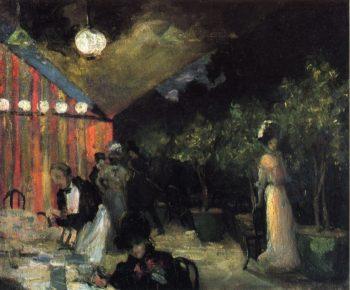 Paris Cafe 1904 | Alfred Henry Maurer | oil painting