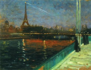 Paris Nocturne Date unknown | Alfred Henry Maurer | oil painting