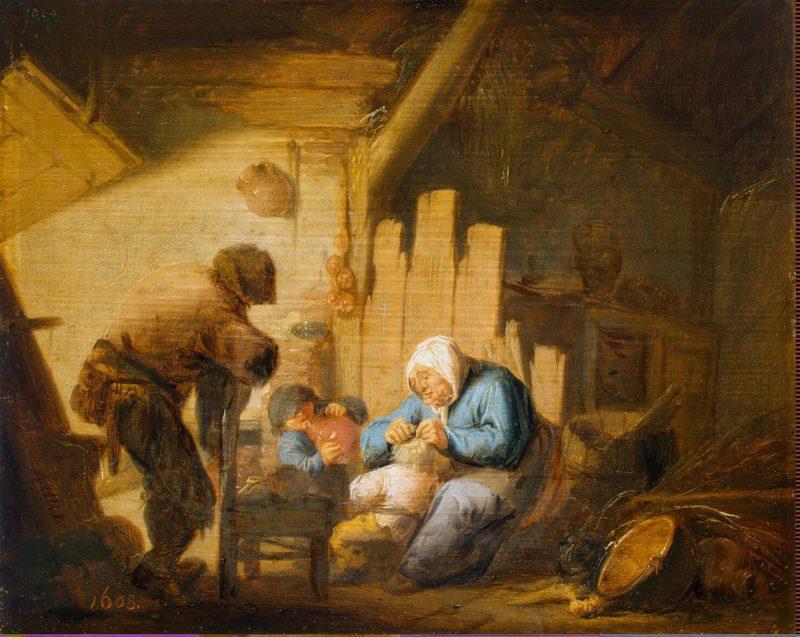Sense of Sight | Ostade Adriaen van | oil painting