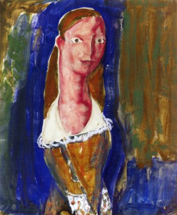 Portrait of a Girl 1923 | Alfred Henry Maurer | oil painting