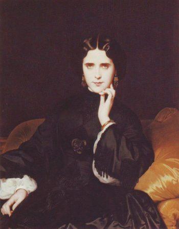 Madame de Loynes | Eugene Amaury-Duval | oil painting