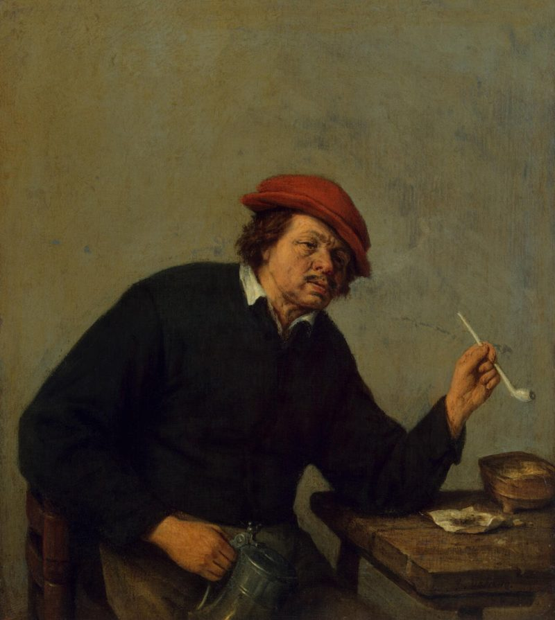 Smoker   Ostade Adriaen van   oil painting