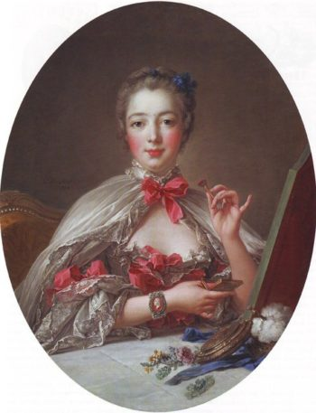 Jeanne-Antoinette Poisson | Francois Boucher | oil painting