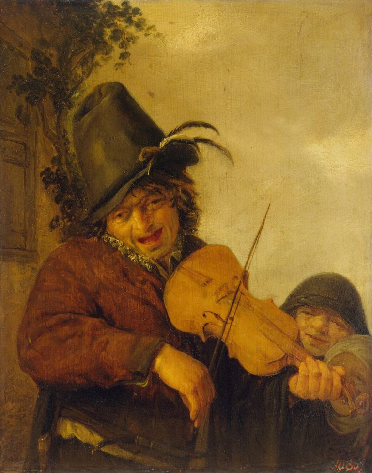 Wandering Musician | Ostade Adriaen van | oil painting