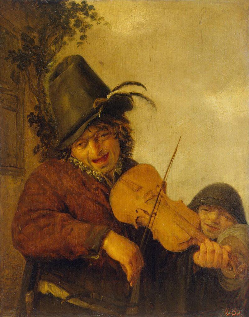 Wandering Musician   Ostade Adriaen van   oil painting