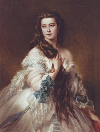Madame Rimsky-Korsakov   Franz Xaver Winterhalter   oil painting