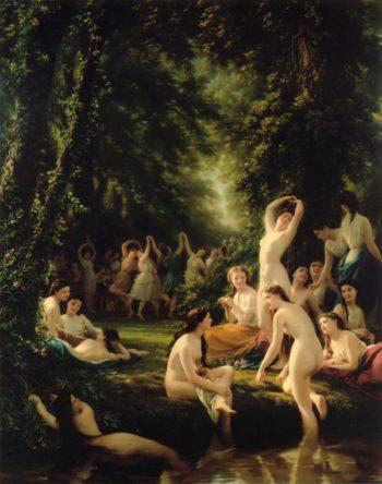 La Reine Bacchanal | Fritz Zuber Buhler | oil painting