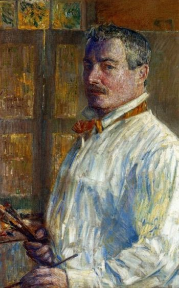 Self Portrait | Frederick Childe Hassam | oil painting