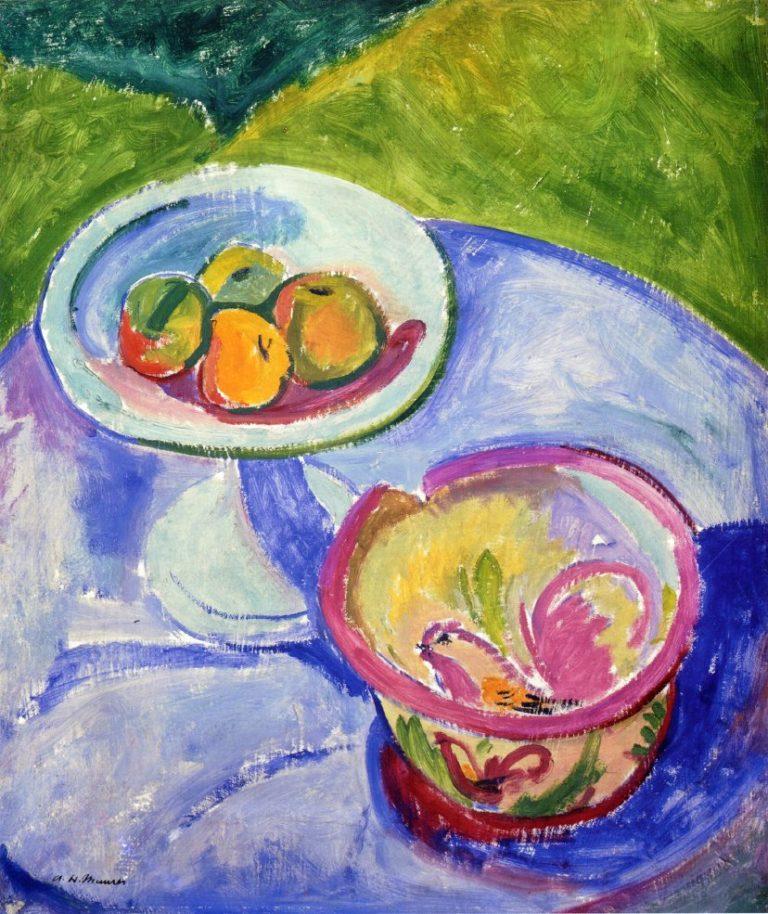 Still LIfe 1908 | Alfred Henry Maurer | oil painting