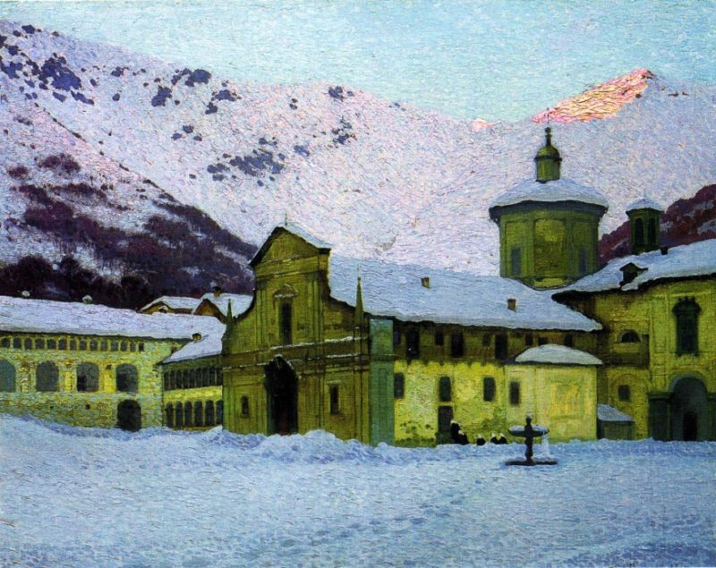 Oropa | Giuseppe Bozzalla | oil painting