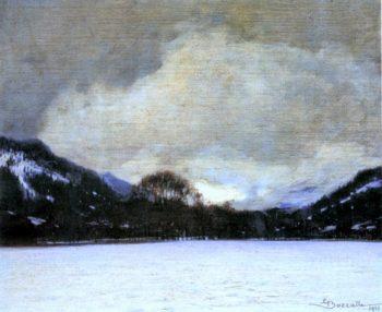 Verso la valle | Giuseppe Bozzalla | oil painting