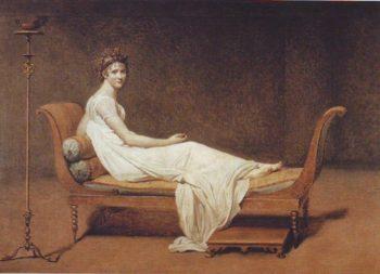 Madame Recamier | Jacques-Louis David | oil painting