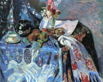 Still LIfe Date unknown | Alfred Henry Maurer | oil painting