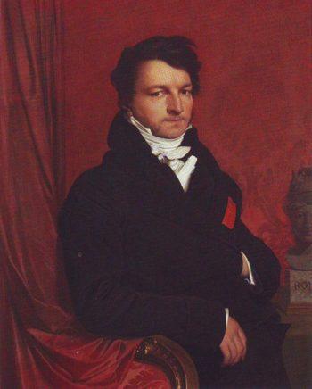 Jacques Marquet-Baron de Montbreton de Norvins | Jean-Auguste-Dominique Ingres | oil painting