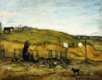 A Gypsy | Jean Francois Raffaelli | oil painting