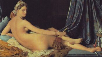 La Grande Odalisque | Jean-Auguste-Dominique Ingres | oil painting