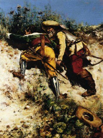 Ambush | Jean Francois Raffaelli | oil painting
