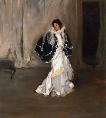 The Black Cape 1901-1904 | Alfred Henry Maurer | oil painting