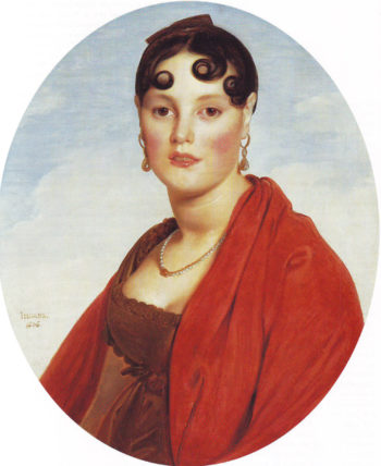 Madame Aymon | Jean-Auguste-Dominique Ingres | oil painting