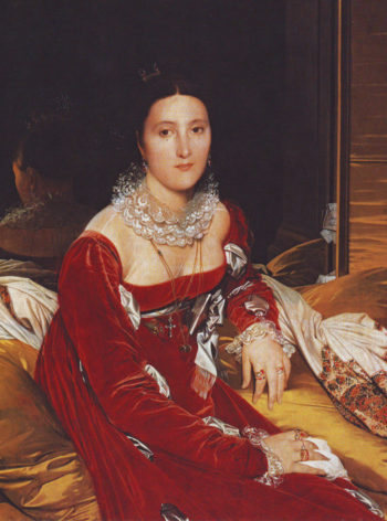 Madame de senonnes | Jean-Auguste-Dominique Ingres | oil painting