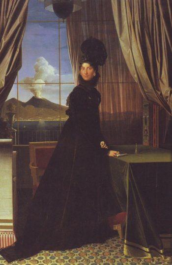 Queen Caroline Murat   Jean-Auguste-Dominique Ingres   oil painting