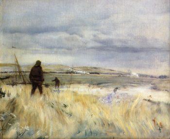 Breton Fishermen | Jean Francois Raffaelli | oil painting