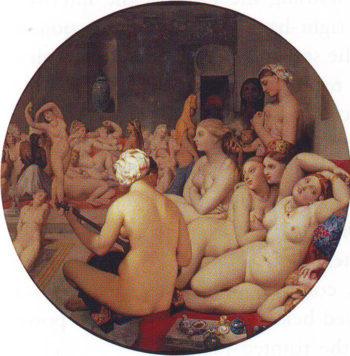 Turkish bath | Jean-Auguste-Dominique Ingres | oil painting