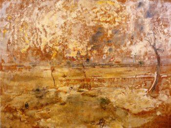 Floods at Saint Denis | Jean Francois Raffaelli | oil painting