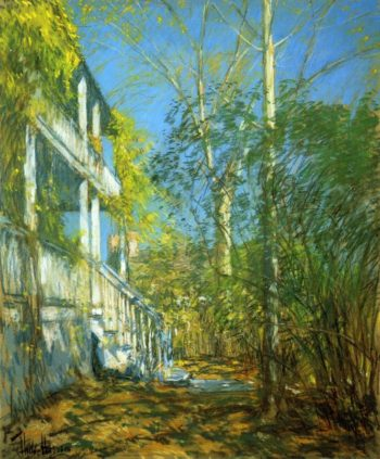 Summer at Cos Cob | Frederick Childe Hassam | oil painting