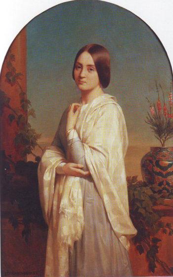 Madame Edouard Dubufe | Louis-Edouard Dubufe | oil painting