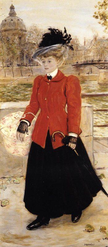 L Apprentie | Jean Francois Raffaelli | oil painting