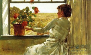 Summer Evening | Frederick Childe Hassam | oil painting