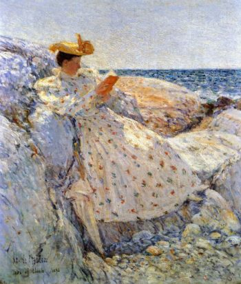 Summer Sunlight | Frederick Childe Hassam | oil painting