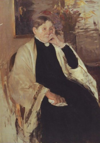 Mrs R S Cassatt | Mary Cassatt | oil painting