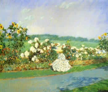 Summertime | Frederick Childe Hassam | oil painting