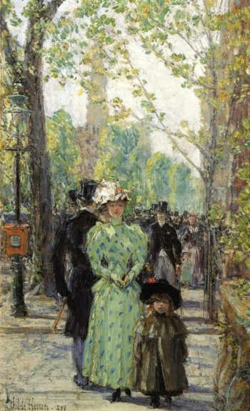Sunday Morning | Frederick Childe Hassam | oil painting