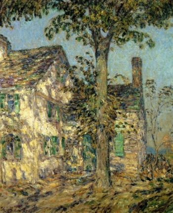 Sunlight on an Old House, Putnam Frederick Childe Hassam