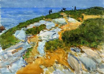 Sunday Morning, Appledore Frederick Childe Hassam