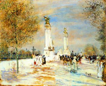 Pont Aleandre III | Jean Francois Raffaelli | oil painting