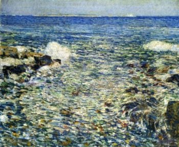 Surf, Isles of Shoals Frederick Childe Hassam