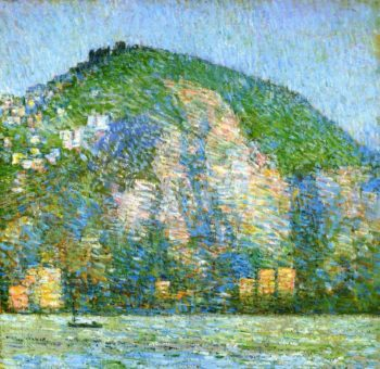Telegraph Hill   San Fraicisco | Frederick Childe Hassam | oil painting