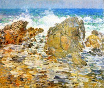 Surf, Appledore Frederick Childe Hassam